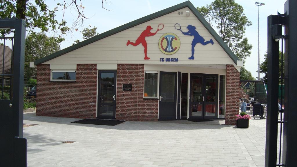 Nieuwbouw clubgebouw tennisvereniging Ursem