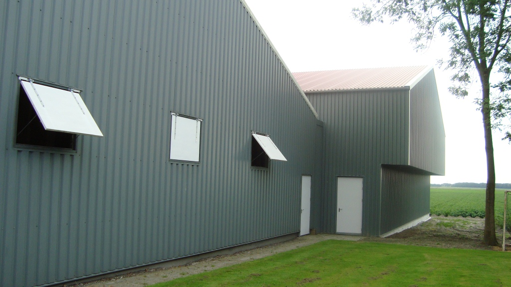 Nieuwbouw opslagruimte te Slootdorp
