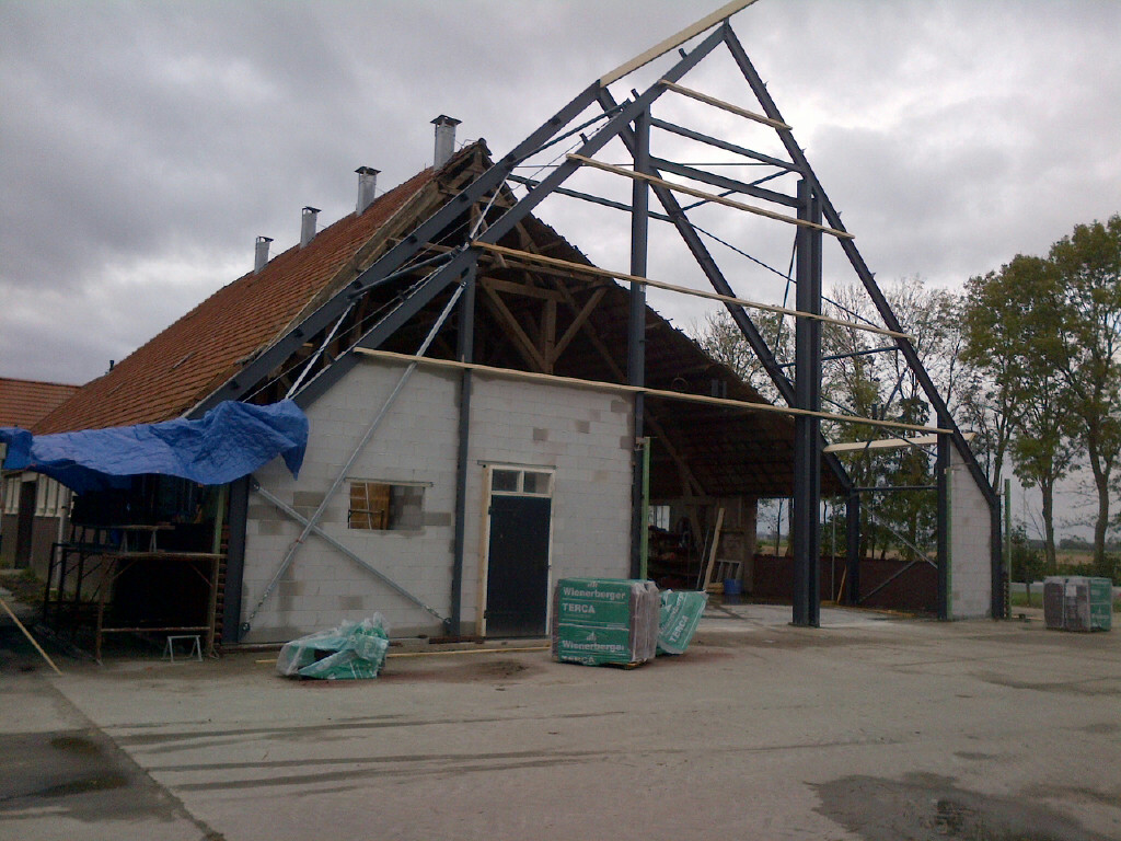 Renoveren en uitbreiden schuur te Wieringerwerf