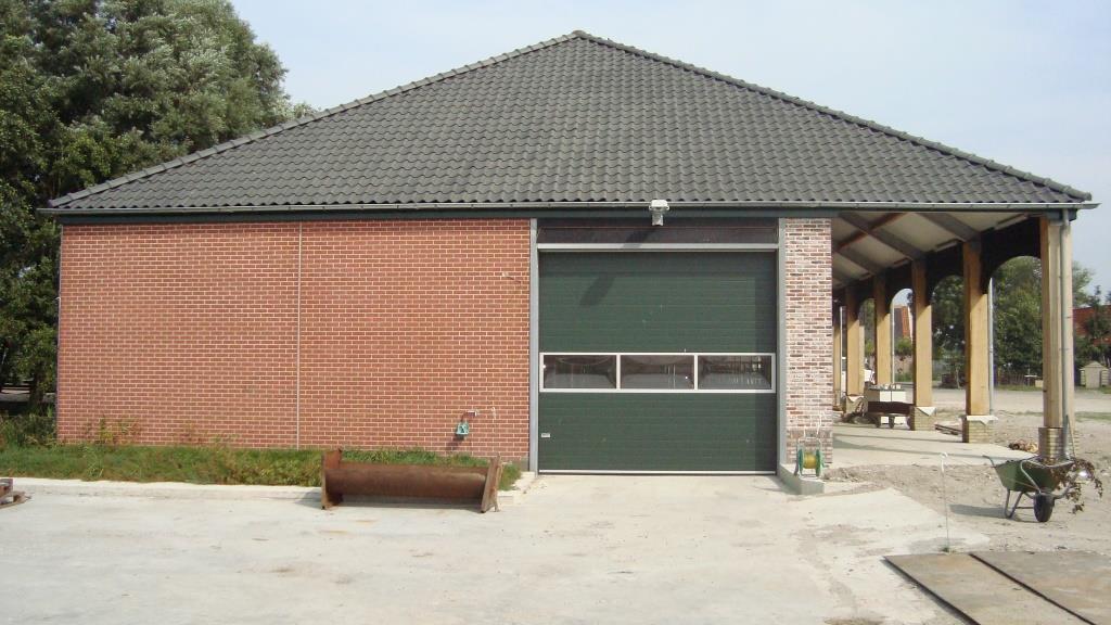 Opleveringsfase nieuwbouw vee-pot en paardenstal te Hoogwoud16
