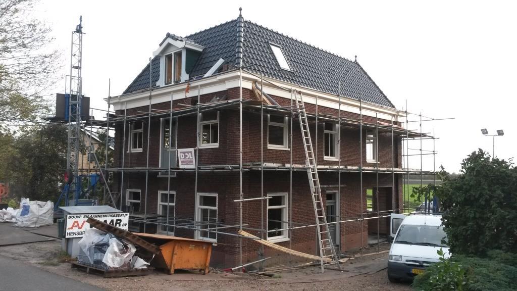 Aanzicht woning dakpannen geplaatst Rustenburgerdijk 18 te Ursem1