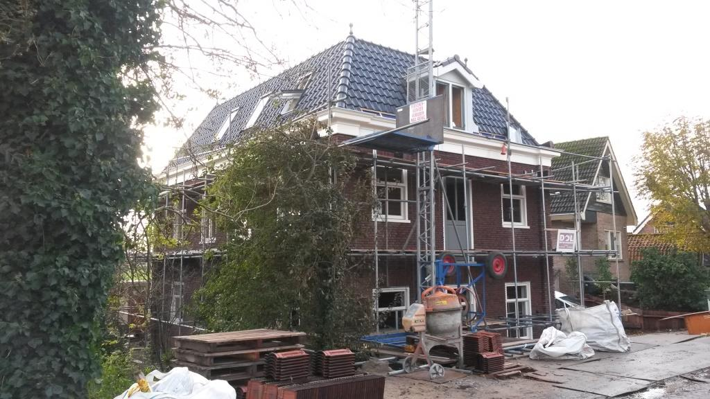 Aanzicht woning dakpannen geplaatst Rustenburgerdijk 18 te Ursem3