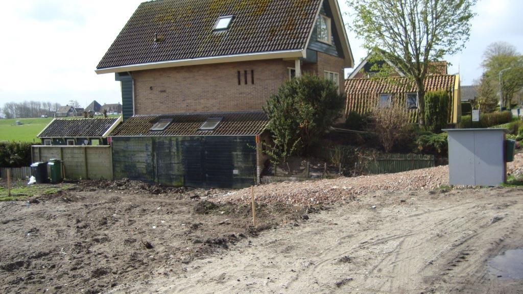 Grondwerk nieuwbouw woning Rustenburgerdijk te Ursem 3