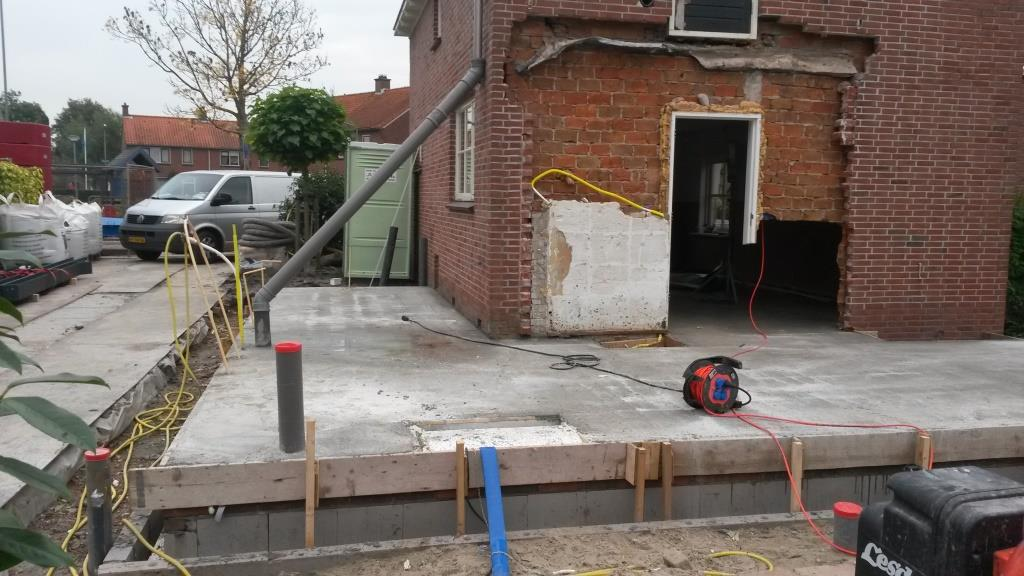 Begane grondvloer uitbreiding Horstenburgstraat 2 te Obdam3