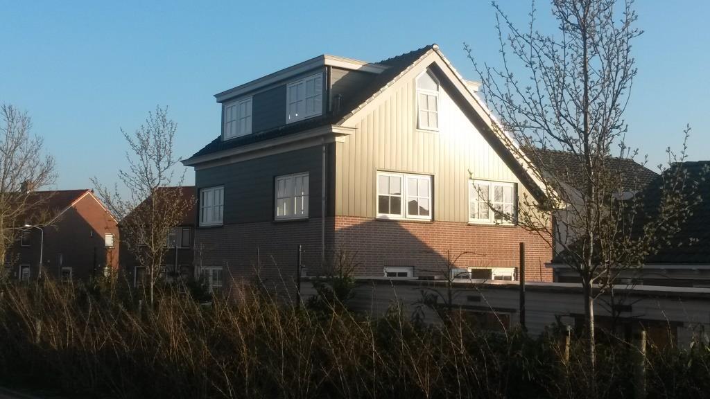 Achtergevel Uitbreiding-verbouw woning Horstenburgstraat 2 te Obdam8
