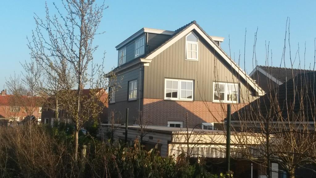 Achtergevel Uitbreiding-verbouw woning Horstenburgstraat 2 te Obdam9
