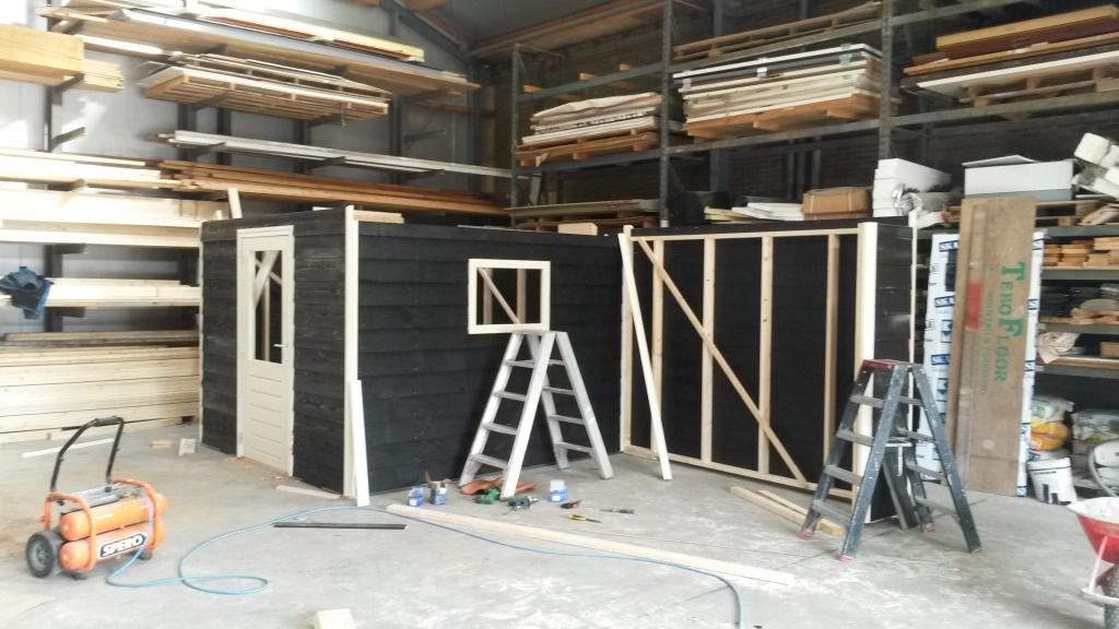 Nieuwbouw tuinhuis-veranda De Brink 1 te Slootdorp