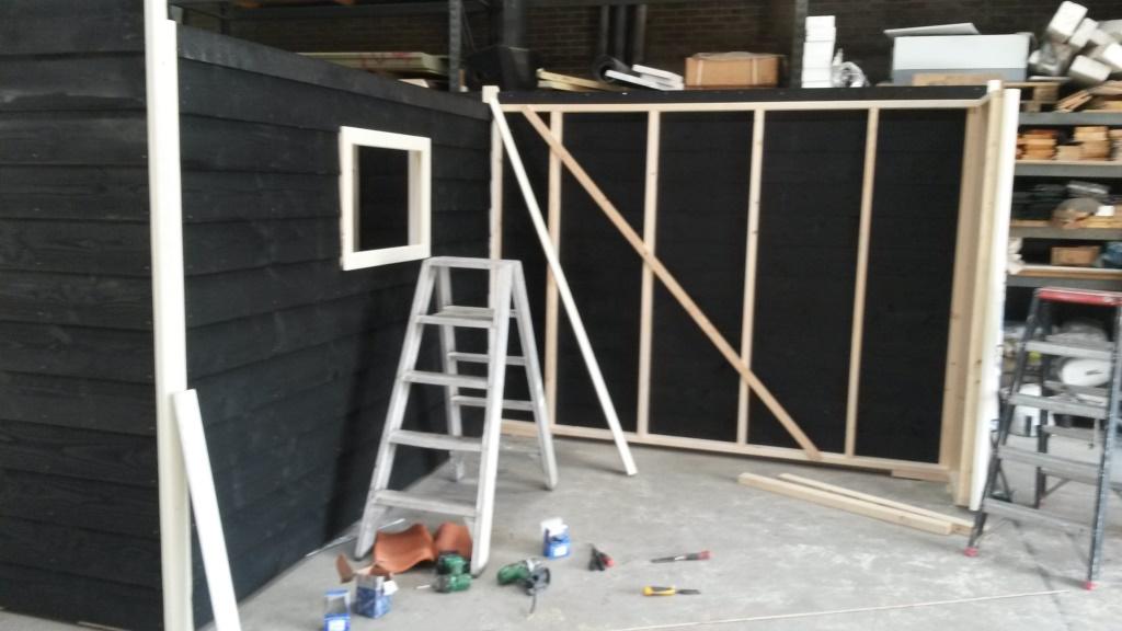 Nieuwbouw tuinhuis-veranda De Brink 1 te Slootdorp1