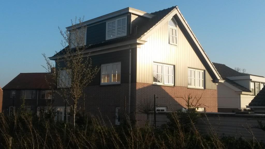 Rechter- en achtergevel Uitbreiding-verbouw woning Horstenburgstraat 2 te Obdam7