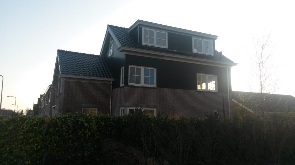 Rechterzijgevel Uitbreiding-verbouw woning Horstenburgstraat 2 te Obdam5