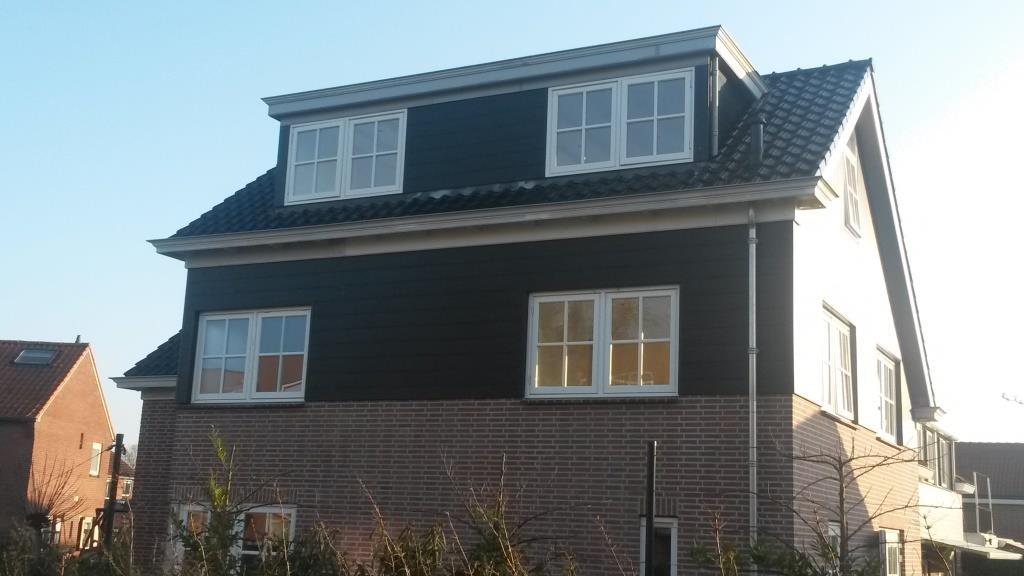 Rechterzijgevel Uitbreiding-verbouw woning Horstenburgstraat 2 te Obdam6