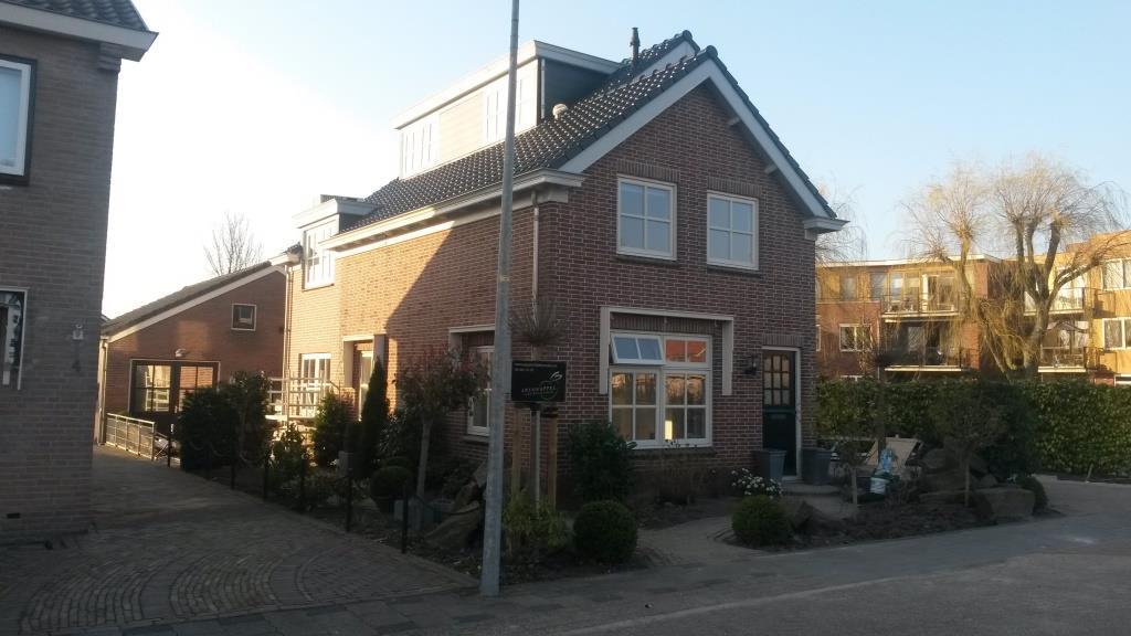 Voorgevel Uitbreiding-verbouw woning Horstenburgstraat 2 te Obdam