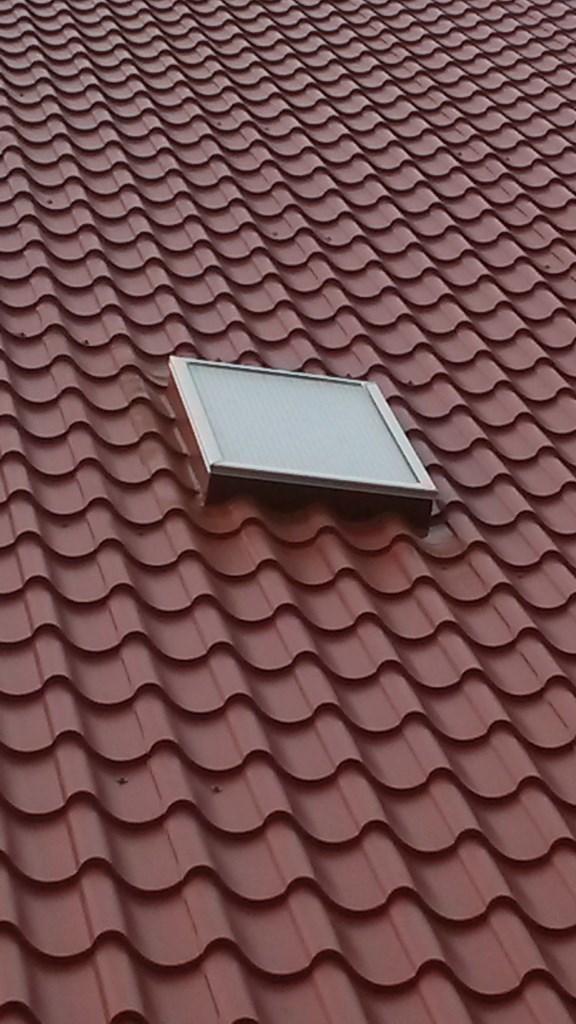 10 Prefab daklicht-Upstand dakpanplaten Rooftile schuur te Wieringerwerf