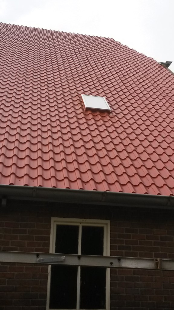 9 Prefab daklicht-Upstand dakpanplaten Rooftile schuur te Wieringerwerf