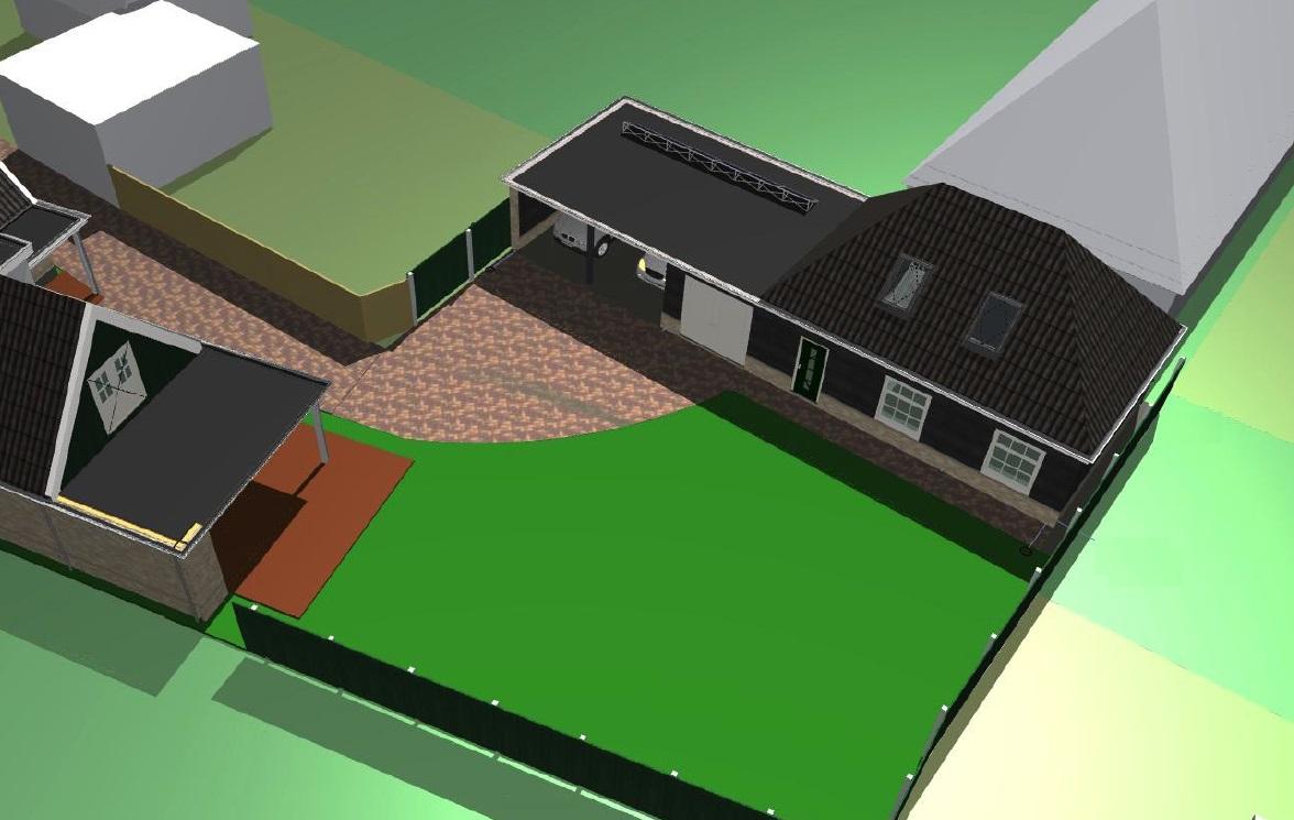 Nieuwbouw garage 2 met carport te Schagen