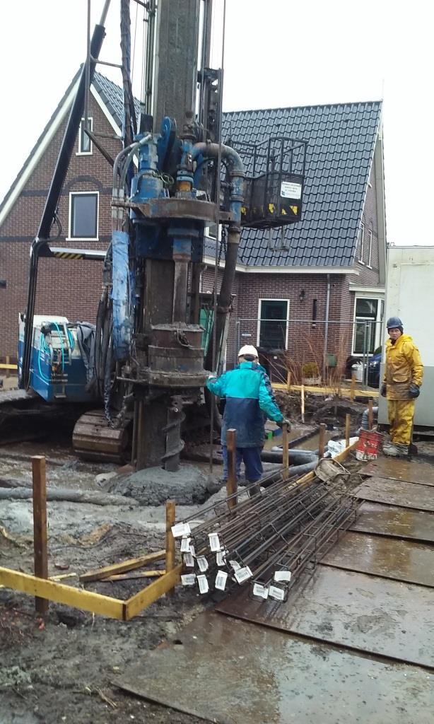 Boorpalen-trillingsvrij-trillingsarm-Noord te Schagen nieuwbouw woonhuis2