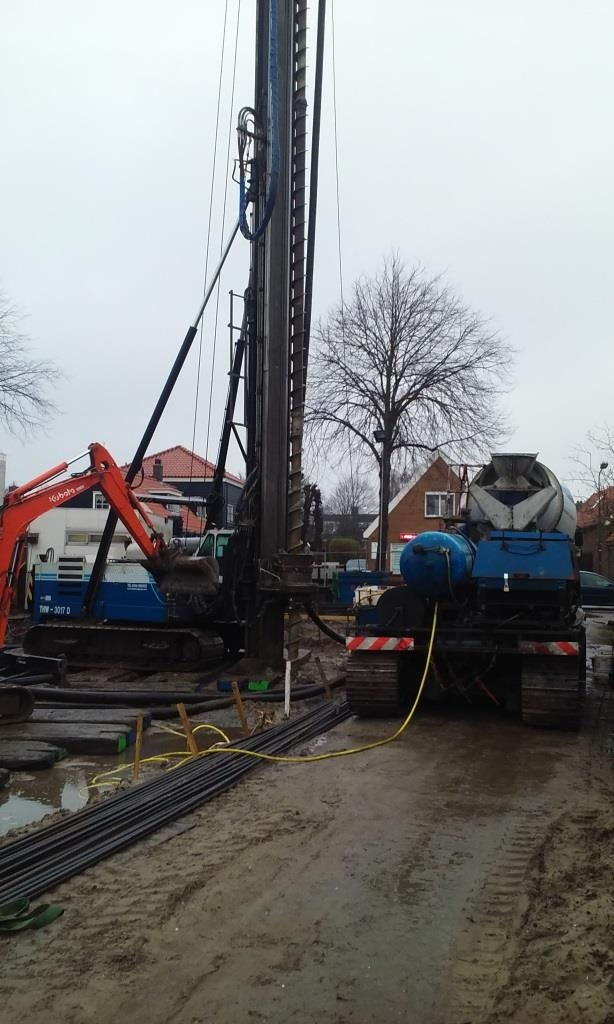 Boorpalen-trillingsvrij-trillingsarm-Noord te Schagen nieuwbouw woonhuis3