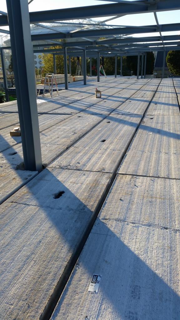 17Nieuwbouw clubgebouw, kanaalplaat verdiepingsvloeren, staalconstructie FC Amsterdam