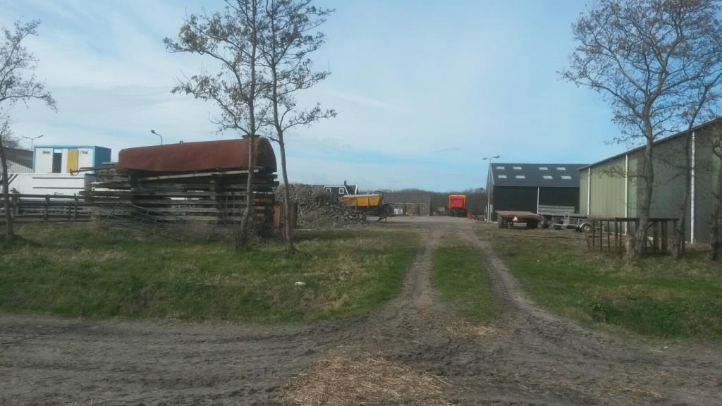 2bestaande situatie Nieuwbouw opslagloods Sint Maartensvlotbrug Agrarisch, loonbedrijf