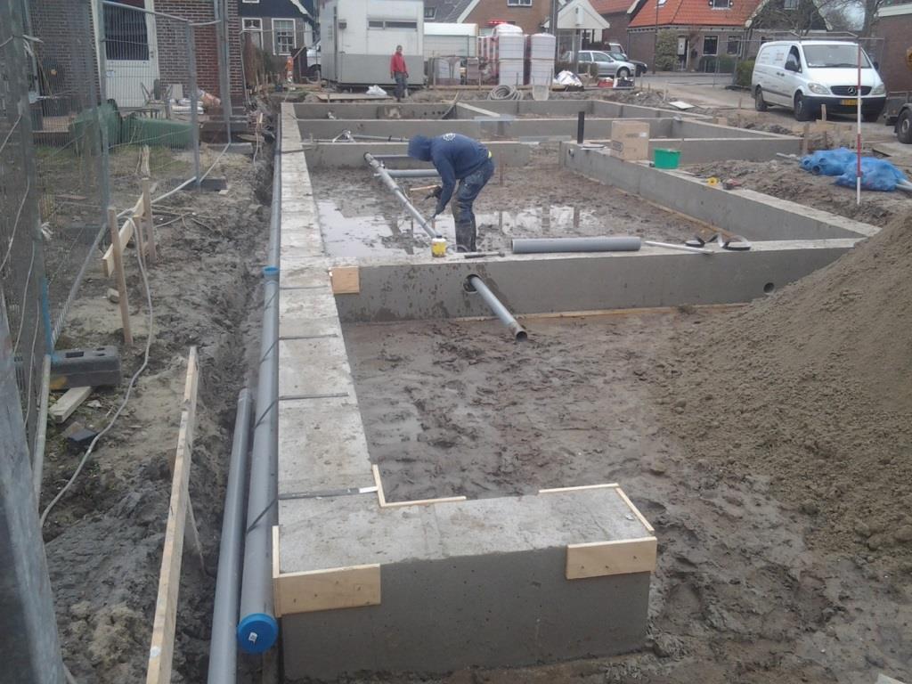 Traditionele bekisting nieuwbouw woonhuis-garageNoord te Schagen2