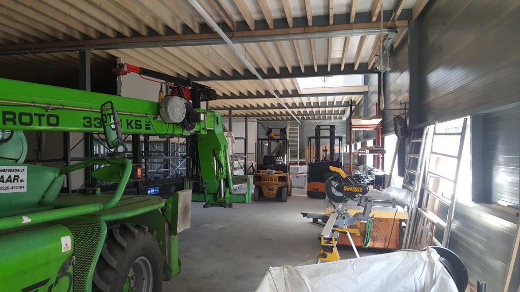 binnen verbouw bedrijfsgebouw Vaart Obdam Vlaar-Hensbroek - DeVi